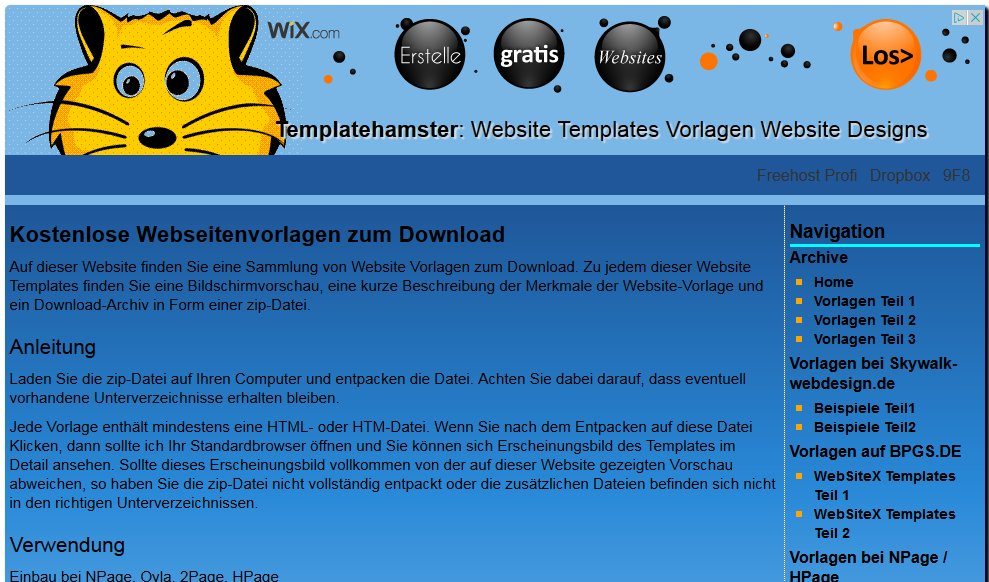 template-hamster.host4free.de